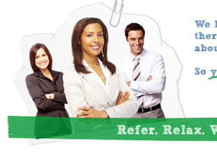 clicking this thumbnail will take you to the easy-referral.com web site